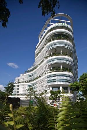 TR Hamzah & Yeang_Solaris Tower_photo by Albert Lim 02