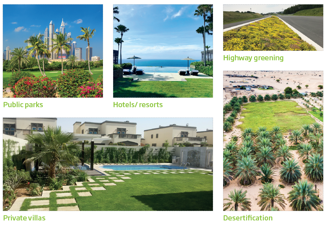 Urbanscape® Landscaping Applications